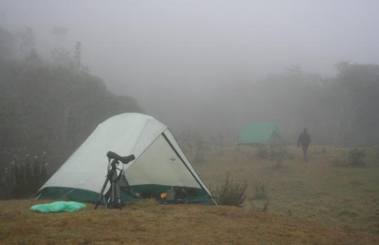 Camp site, Pillahuata, Andes