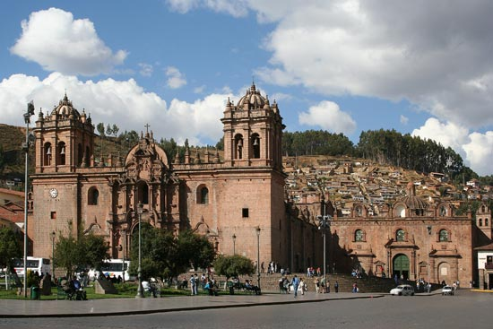Cusco - the old town